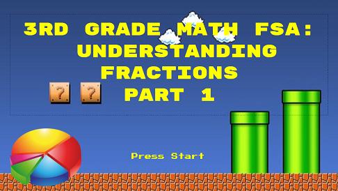 3rd Grade Math: Understanding Fractions Part 1