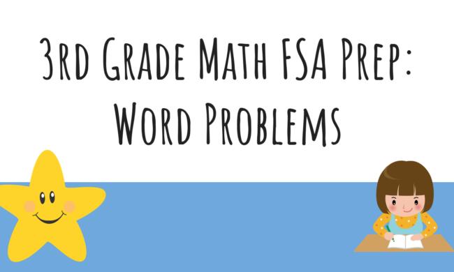 3rd Grade Math: Word Problems