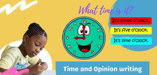 Bundle 4: Time and Opinion Writing