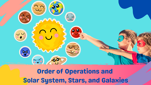Bundle 1: Order of Operations and Solar System, Stars, and Galaxies