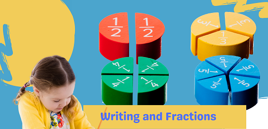 Bundle 5: Fractions and  Writing