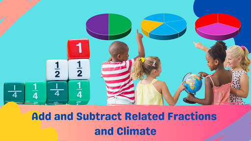Bundle 4: Add and Subtract Related Fractions and Climate