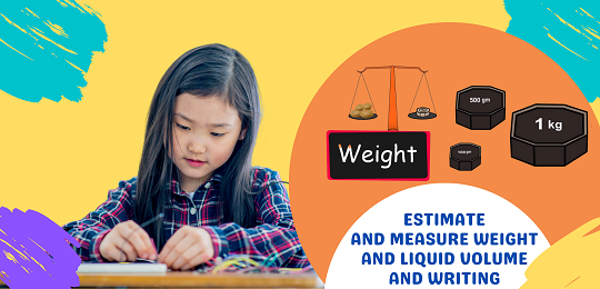 Bundle 5: Estimate and Measure Weight and Liquid Volume and Writing